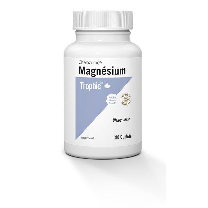 Magnesium bisglycinate, 180 capsules