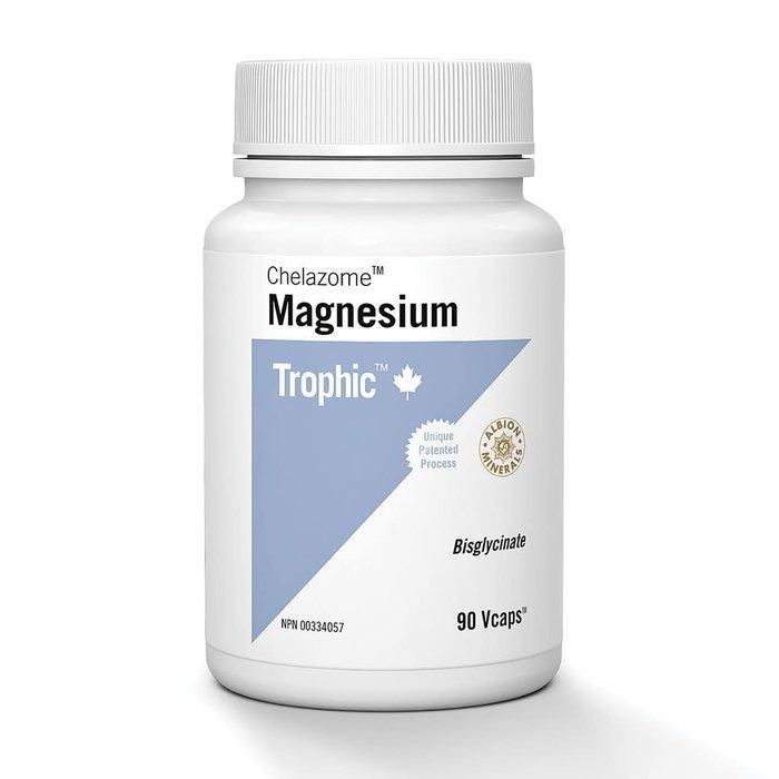 Magnesium bisglycinate, 90 capsules