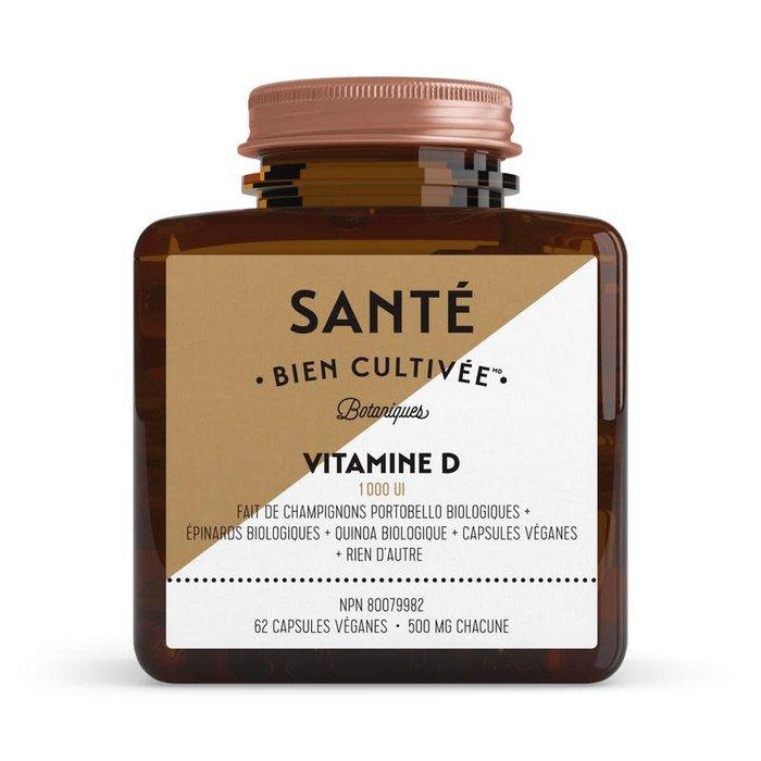 Vitamine D botanique 62 caps 500 mg