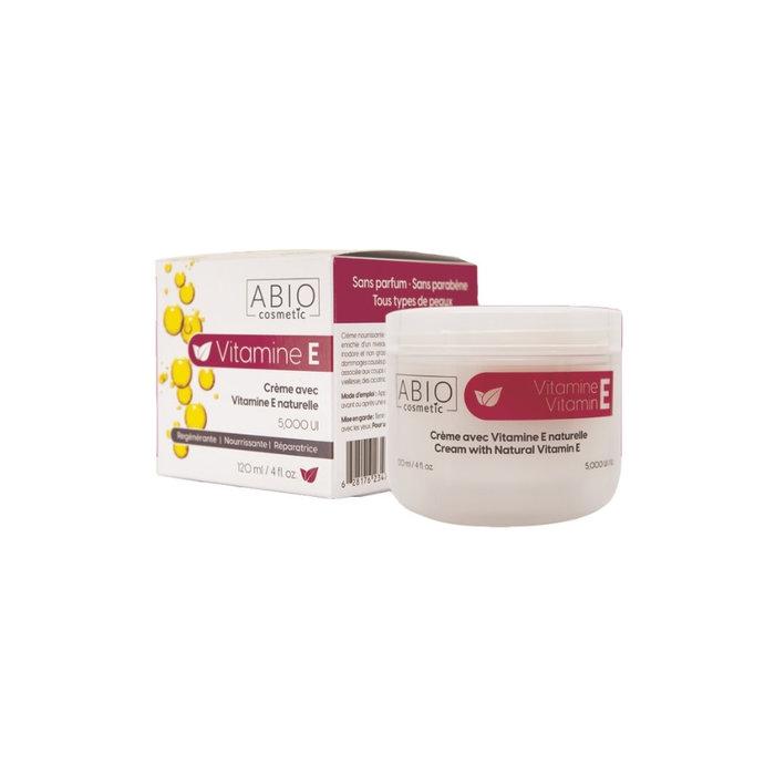 Crème Vitamine E (5,000 UI) 120 ml