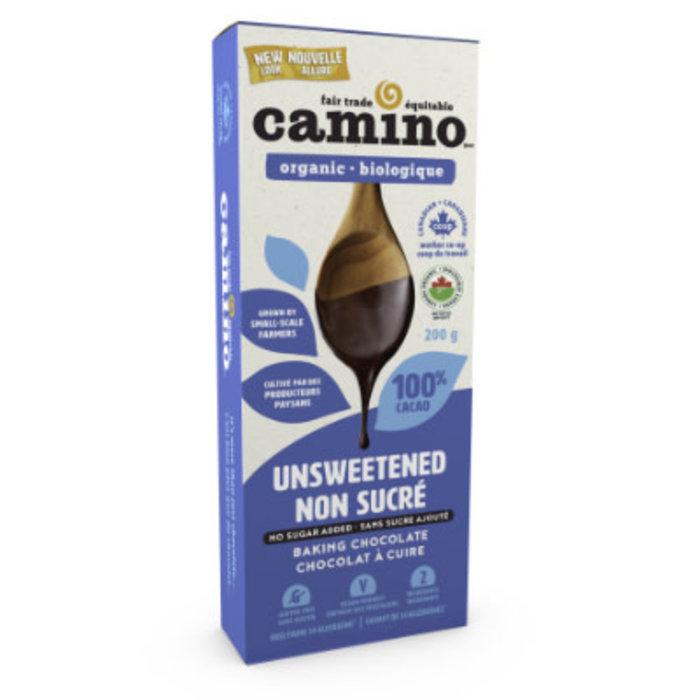 Chocolat a cuire non sucre 100%  bio 200g