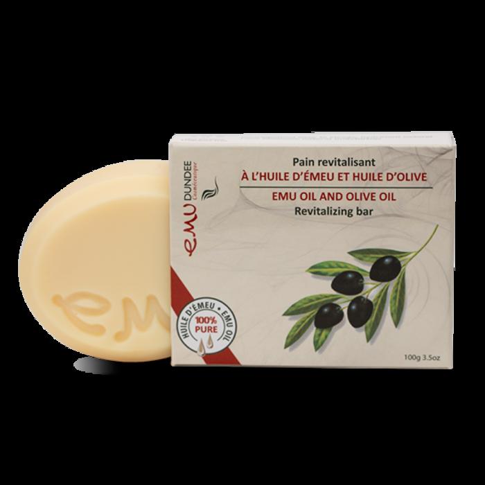 Savon Emeu et olive, (hydratant) 100g