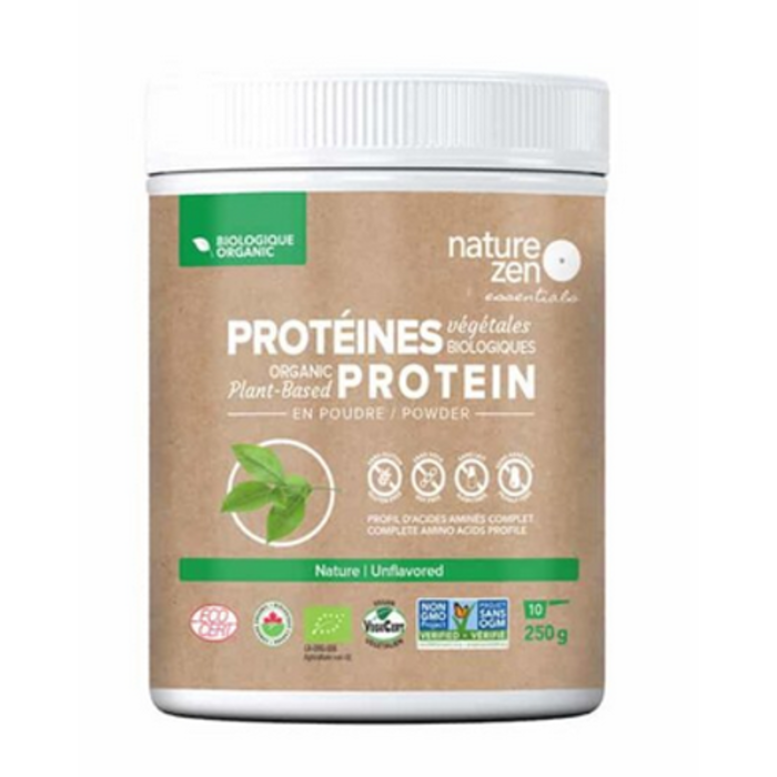 Proteines vegetales bio, sans saveur, 250g