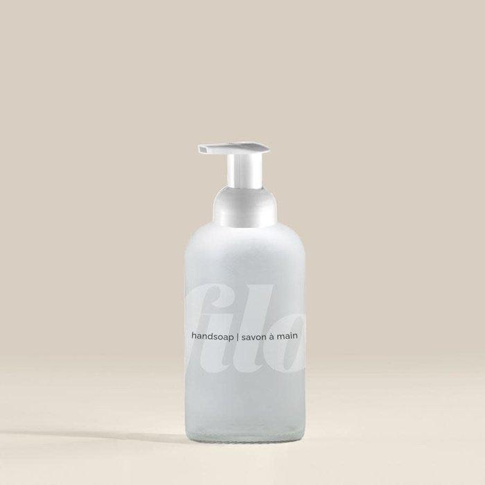 Bouteille verre pour savon à main 350ml
