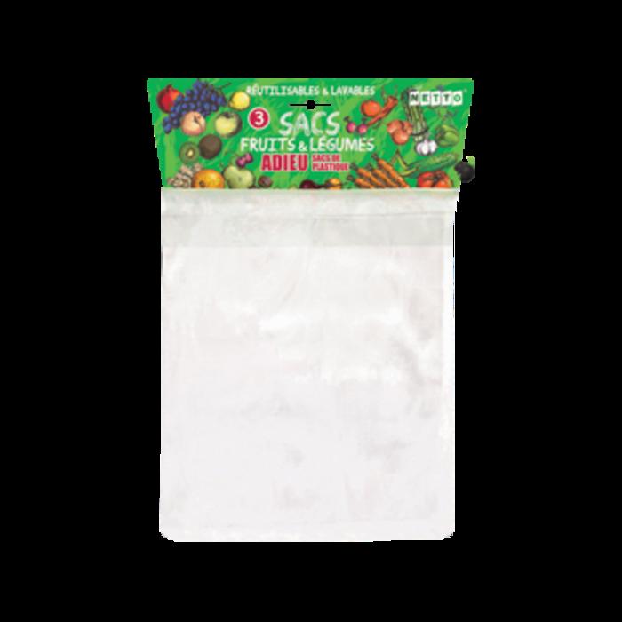 Sacs reutilisables pour fruits et légumes