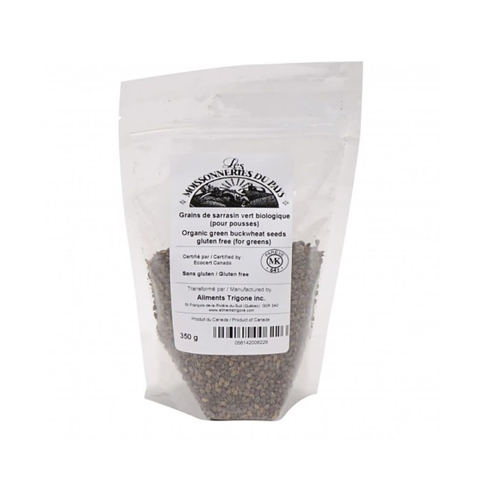Grains de sarrasin vert bio pour germer, 350g
