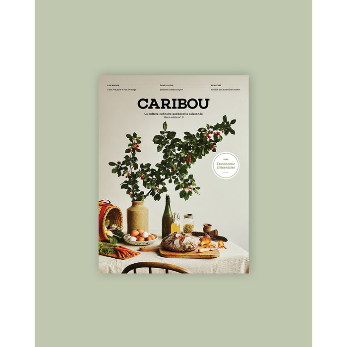 Magazine Caribou - Hors serie Automne Alimentaire