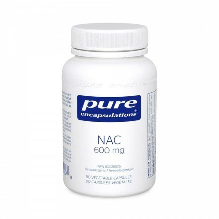 NAC (N-acetyl-cysteine) 600mg, 90 capsules
