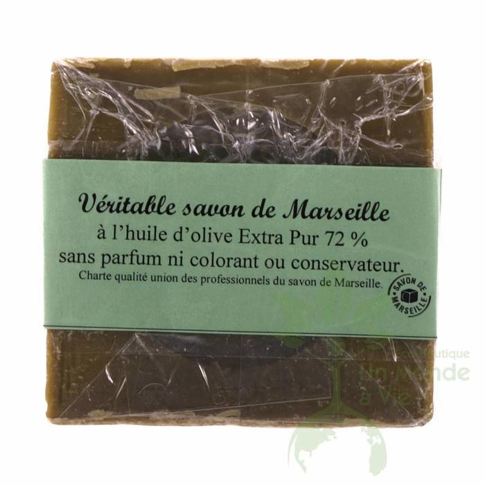 Savon Marseille 72% 300g