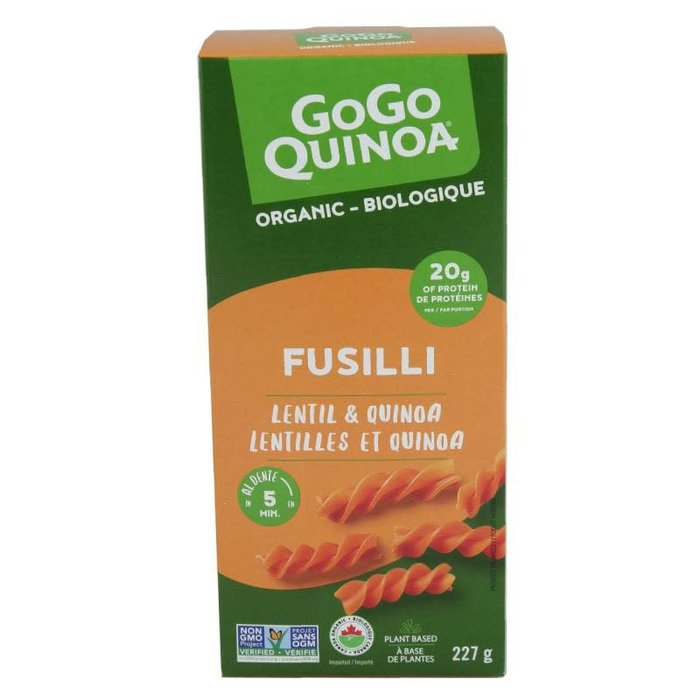 Fusilli lentilles & quinoa Bio 227 g