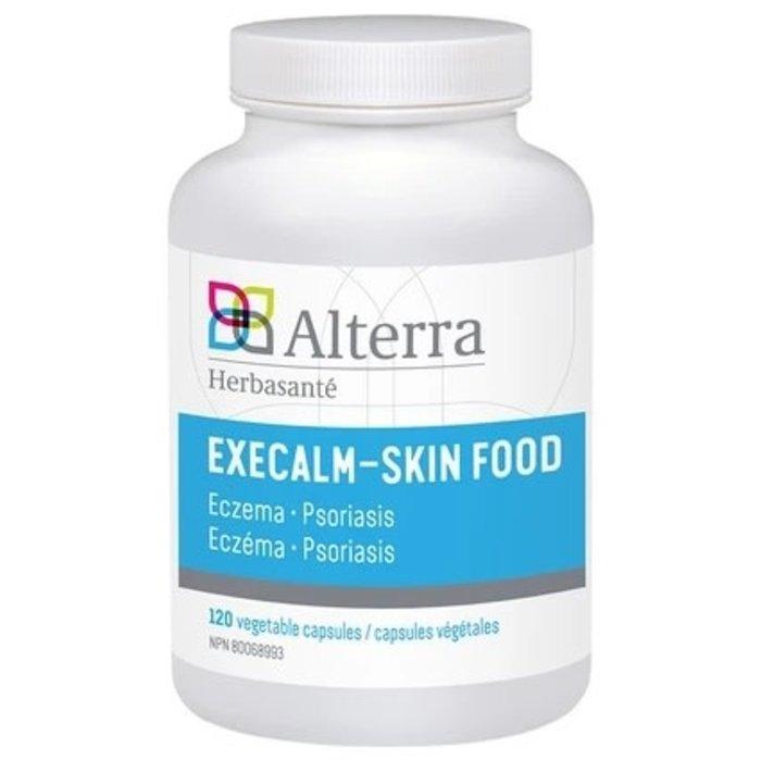 Execalm - Skin Food 120 capsules