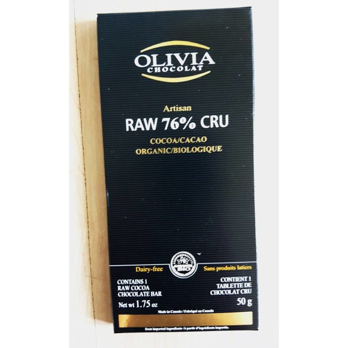 Chocolat Cru 76% 50g