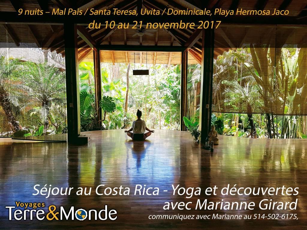 Séjour au Costa Rica - Yoga & découvertes