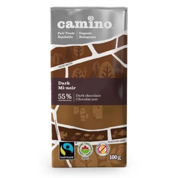 Barre de chocolat bio 100g