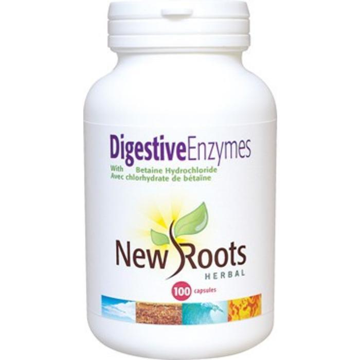 Enzymes digestives avec bétaine 100 capsules
