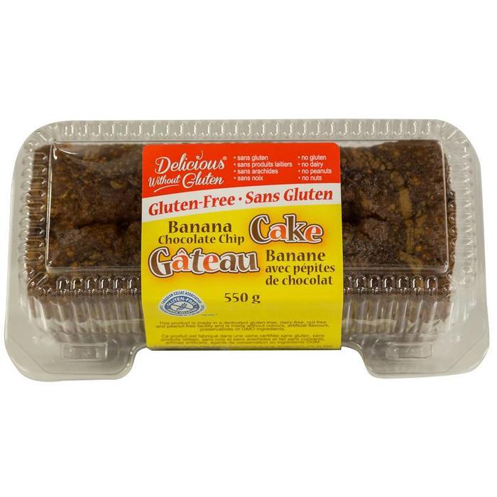 Gâteau banane chocolat 550g