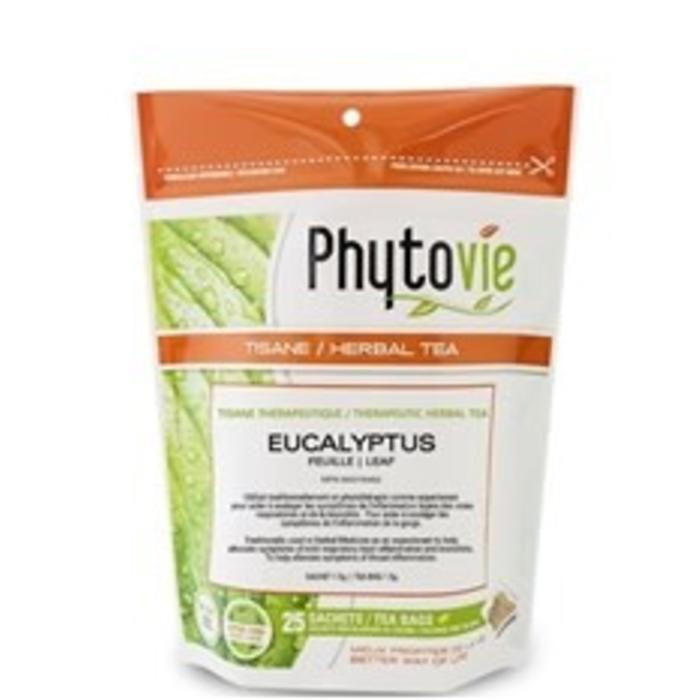 Eucalyptus feuille 25 sachets 1.5g
