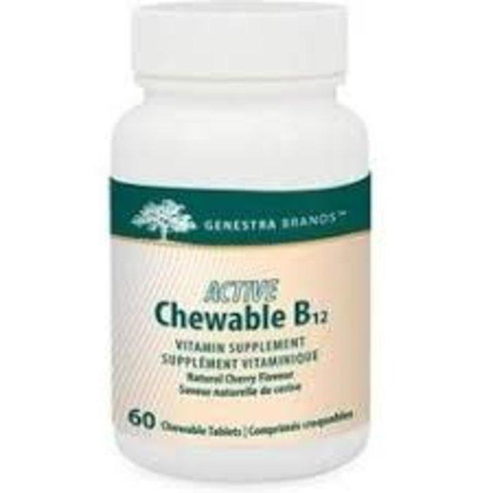 Vitamine B12 60 comp. croquables
