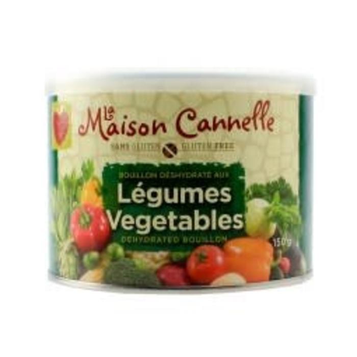 Bouillon de légumes sans gluten 150g