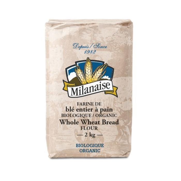 Farine de ble entier a pain bio 2kg