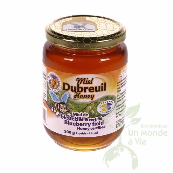 Miel de bleuetière certifié