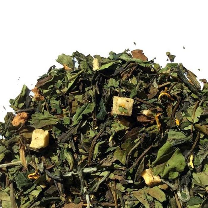 Thé blanc mangues-poires bio 45g