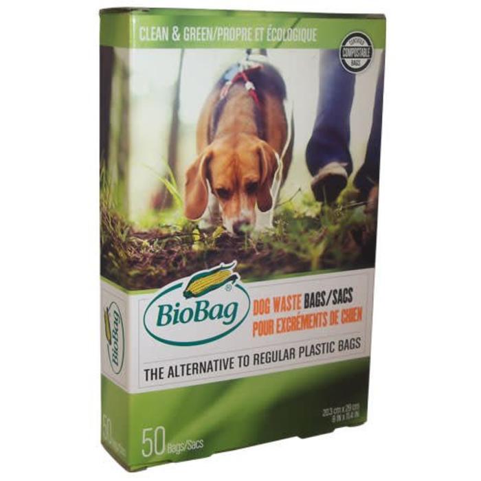 Sacs compostables pour excréments d'animaux