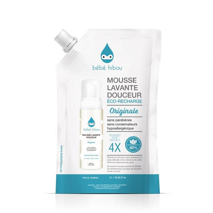 Mousse lavante douceur original