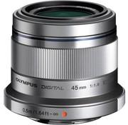 Preowned Olympus M.Zuiko Digital 45mm f/1.8 Lens (Silver)
