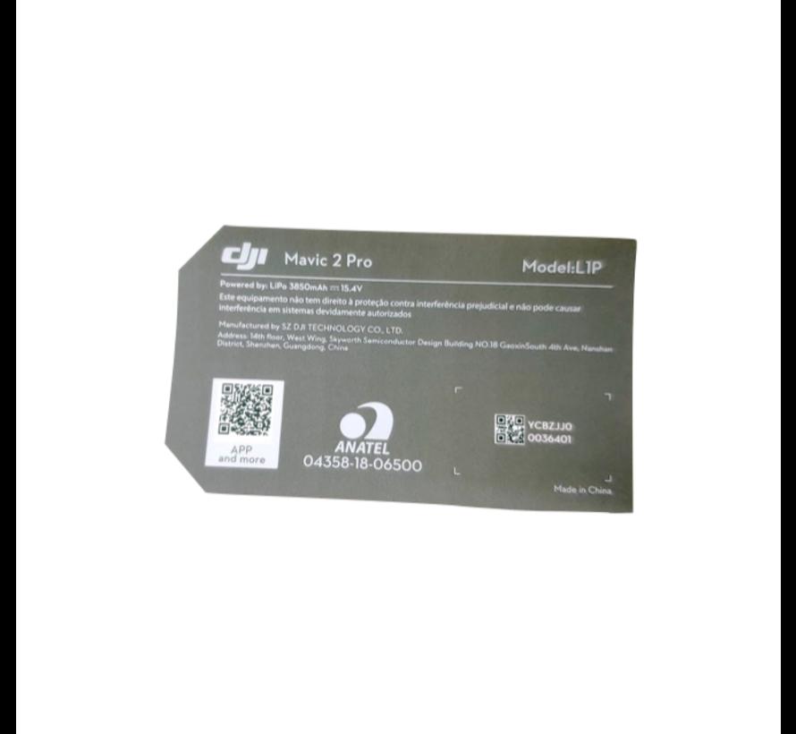 Mavic 2 Pro Sticker