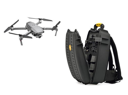 HPRC HPRC Backpack Hard Case for DJI Mavic 2 Pro & Zoom