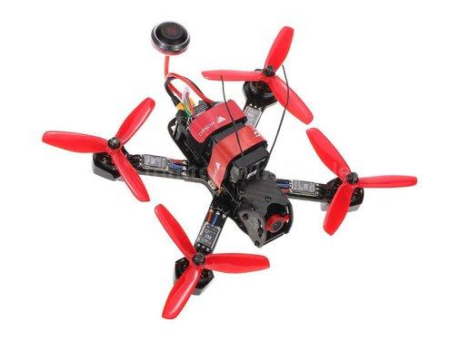 Walkera Furious 215 RTF Racing Drone with 600 TVL Night Vision HD Camera and DEVO 7 Remote Controller