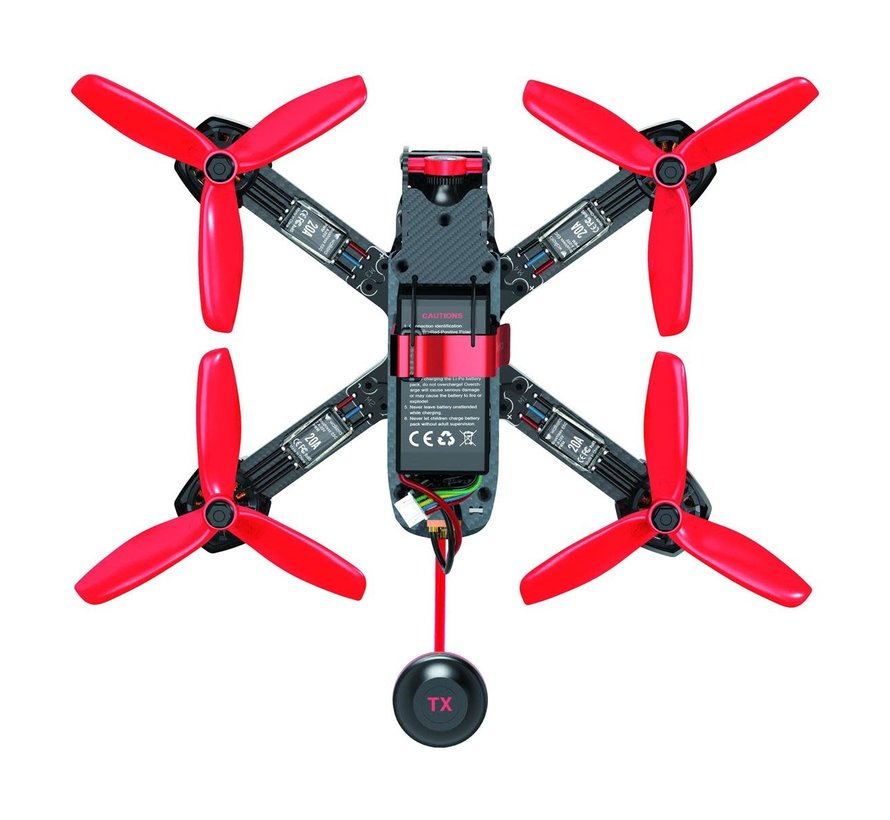 Walkera Furious 215 RTF Racing Drone with 600 TVL Night Vision HD Camera and DEVO 7 Remote Controller