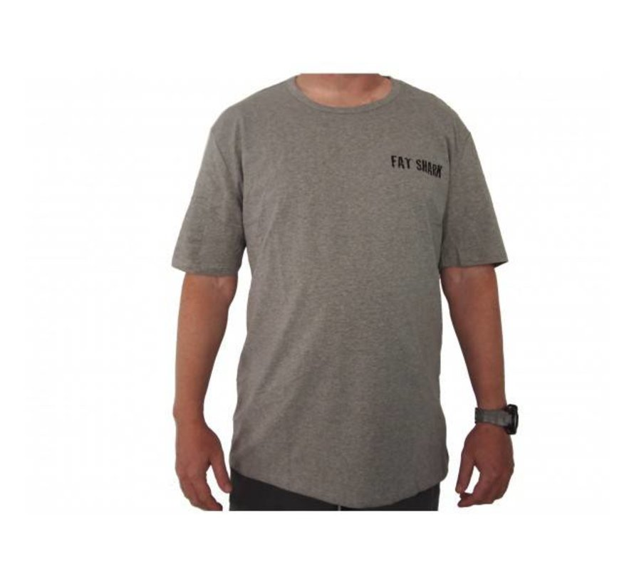 FatShark Grey T-shirt (XXL)