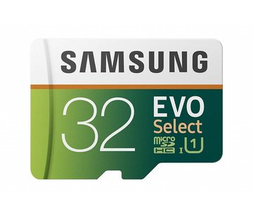 Samsung Samsung 32GB 95MB/s (U1) MicroSD EVO Select Memory Card with Adapter (MB-ME32GA/AM)