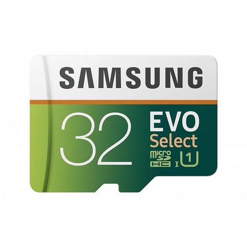 Samsung Samsung 32GB 95MB/s (U1) MicroSD EVO Select Memory Card with Adapter (MB-ME32GA/AM)
