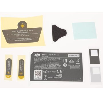 DJI Mavic Pro Platinum Aircraft Appearance Sticker