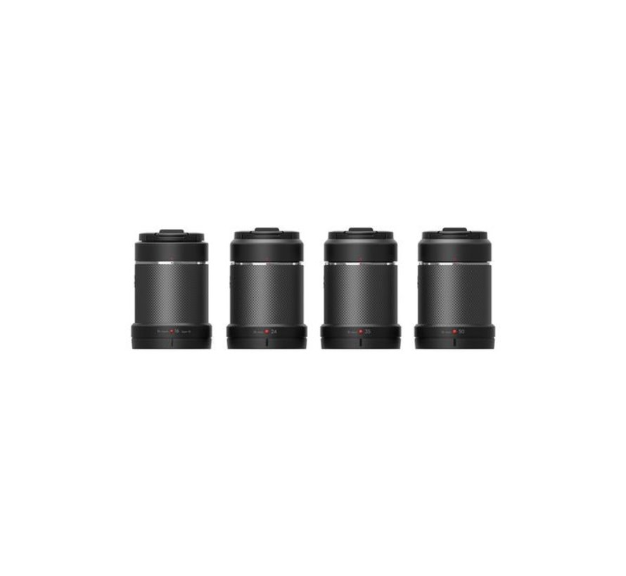 Zenmuse X7 Part14 DJI DL/DL-S 4 Lens Set