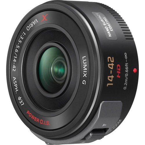 Panasonic Panasonic Lumix G X Vario Power Zoom Lens, 14-42MM, F3.5-5.6 ASPH