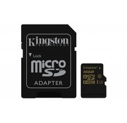 Kingston 16GB Microsd HC Class U3 UHS-I 90R/45W + SD Adapter