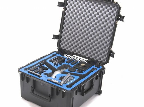 GPC DJI Inspire 2 Travel Mode Case for Cendence, CrystalSky and More