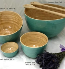 "albert L. (punkt) Inc Bamboo Bowl, Tall 11.7""x7"""