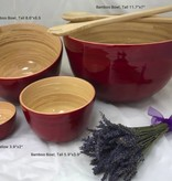 "Bamboo Bowl, Shallow 3.9""x2"""