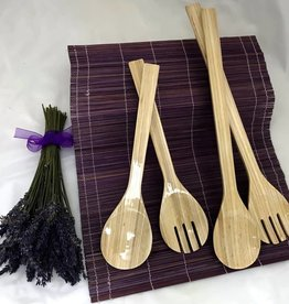 Bamboo Server Set, Large