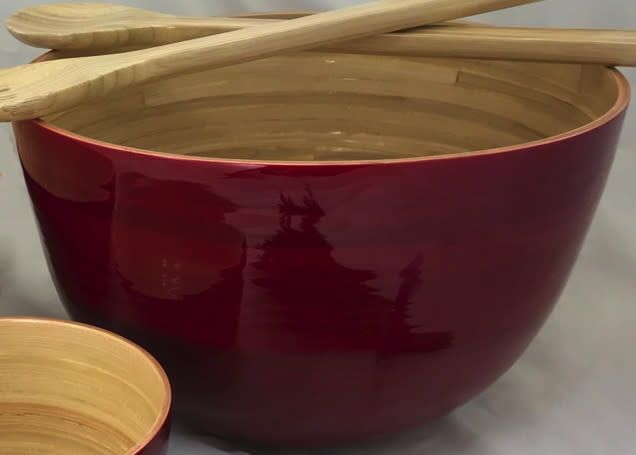 "albert Bamboo Bowl, Tall 11.7""x7"""