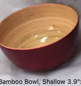 "albert Bamboo Bowl, Shallow 3.9""x2"""