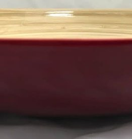 "albert L. (punkt) Inc Bamboo Bowl, Shallow 11.7""x2"""