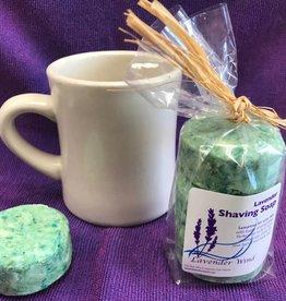 Lavender Wind Lavender Shaving Soap 3pk