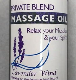 Lavender Wind Private Blend Massage Oil - 6oz
