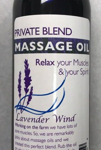 Private Blend Massage Oil - 6oz